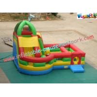 Wholesale Waterproof Inflatable Bouncer Slide PVC Tarpaulin For Kids With Strong Handles from china suppliers