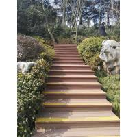 High Strength Waterside Composite Decking Boards With Outdoor Heavy Style