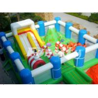 Wholesale Merry Christmas Outdoor Inflatable Playground Equipment For Kids 8m * 6m * 4.5m from china suppliers
