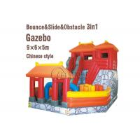 Wholesale Playground Combo Inflatable Slide Inflatable Jumping Bouncy Castle With Slide from china suppliers