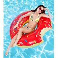 Wholesale inflatable donut swim ring / 120cm inflatable adult swim ring / 400pcs in stock from china suppliers