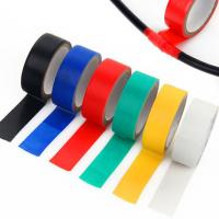 Quality Splice and insulate wires up to 600V Electrical Tape ,0.18mm thick ,various color for sale