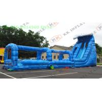 China Commercial Adults Size Inflatable Garden Water Slide Big Slip Slide Toys on sale