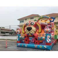 China Gaint Inflatable Combo / Inflatable Slide Bouncy / Combo Castle Games For Kids Play on sale