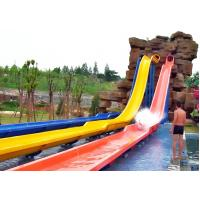 China commercial family Fiberglass Free Fall Water Slide Water Park Equipment on sale