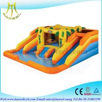 China Hansel commercial trampoline,sale cheap bouncy castles,inflatable tennis court on sale