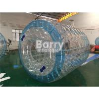 Transparent Inflatable Pool Water Roller Ball For Grassplot / Beach