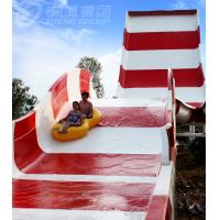 Buy cheap Amusement Rainbow Mushroom Swimming Pool Water Slide / Outdoor Water Play from wholesalers