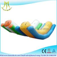 Wholesale Hansel Double Lanes Adult Inflatable Totter For Sale ,inflatable Water Seesaw from china suppliers