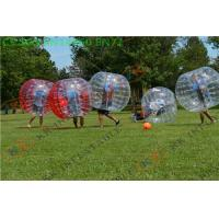 China Sports Games Bubble bumper football /  inflatable body ball For Outdoor Event on sale