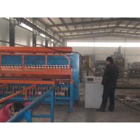 China Pneumatic Control Stainless Steel Bar Mesh Welding Machine For Dock Floor on sale