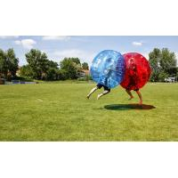 Wholesale Customized Large Inflatable Bubble Soccer , Plastic Bubble Ball Soccer Inflatable from china suppliers