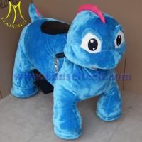 Wholesale Hansel fats profits coin plush motorized animals rideable dinosaur from china suppliers