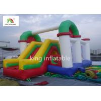 China Outdoor Inflatable Jumping Castle Bounce House Customized Size ROHS EN71 on sale