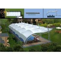 China Heat Resistance Tensile Structure Buildings Weatherproof Tensile Shade Structure on sale