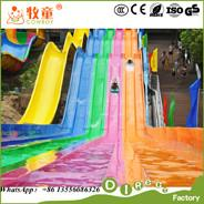Wholesale Large and Long Outdoor Rainbow Slide , Colorful Rainbow Slide Cheap Prices from china suppliers
