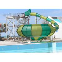 Wholesale Space Bowl Funny Custom Water Slides / Amusement Park Equipment from china suppliers