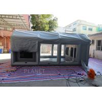 Wholesale PVC Tarpaulin Outdoor Inflatable Spray Booth Garage Tent Customized Size from china suppliers