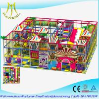 Wholesale Hansel kids soft play sponge playground indoor soft playground equipment from china suppliers