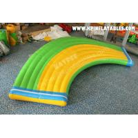 Wholesale Inflatable water Curve running way for aqua park from china suppliers