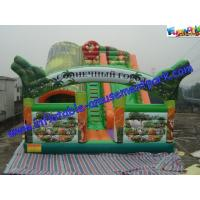 Wholesale Waterproof Rent Inflatable Slide , Jungle Big Inflatable Slide Slip For Children from china suppliers