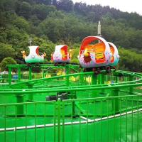 Wholesale 360 Degree Amusement Park Roller Coaster , Dinosaur Roller Coaster from china suppliers