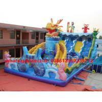Wholesale Factory Price Customized Dragon Theme Large Outdoor Commercial Inflatable Bouncer Castle For Kids from china suppliers