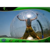 China Large Inflatable Water Toys For Adults , Transparent Inflatable Walking Water Ball on sale