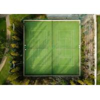 Wholesale 15mm School Artificial Tennis Court Surfaces , Multiple Purpose Synthetic Grass Tennis Court from china suppliers