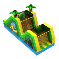 Wholesale Inflatable Slide With Climbing For Fun Pvc  Inflatables For Game Center Ce Certification from china suppliers