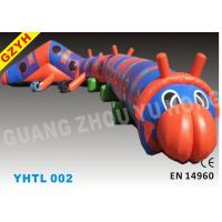 Wholesale 15*3*3m Plato 0.55mm PVC Inflatable Sports Tunnel YHTL-002 with CE UL Blower from china suppliers