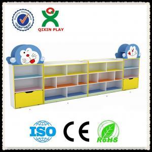 Wholesale Nursery furniture kids storage unit ,Kindergarten Furniture Toy Storage Cabinets QX-200B from china suppliers