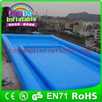 Wholesale plastic swimming pools pvc tarpaulin inflatable pool large inflatable swimming pool from china suppliers