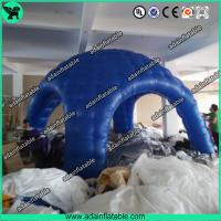 Wholesale Blue PVC Coated Nylon Or PVC Tarpaulin Inflatable Igloo Tent Inflatable Dome Tent For Out from china suppliers