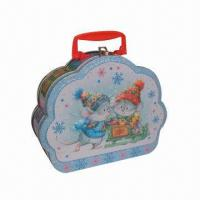 Wholesale Gift Tin Box with Cartoon Printing, Available in Various Finishes from china suppliers