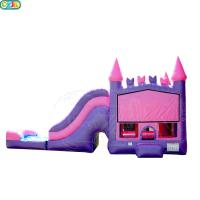 Wholesale Safety Blow Up Water Obstacle Course / Bounce House Wet Or Dry Combo from china suppliers