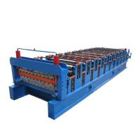 Wholesale Stepped Sheet Roofing Tile Forming Machine Ibr Roof Panel Forming Machine from china suppliers
