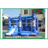 Wholesale Customized 0.55mm PVC Tarpaulin Inflatable Bouncy Castle Frozen Obstacle Course For Children from china suppliers