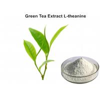 Wholesale 100% Natural L - Theanine Green Tea Extract Powder White Healthcare Food For Sleep from china suppliers