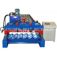 Wholesale 4m/min Glazed Roofing Tile Roll Forming Machine For Roof Building from china suppliers