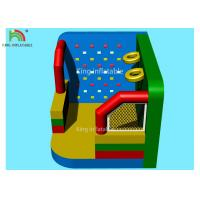 Wholesale Colorful Inflatable Outdoor Sports Games Football Dart Climbing Wall Basket Shooting Movie Screen from china suppliers