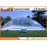 Wholesale PVC Transparent Inflatable Pool Cover Tent Swimming Pool Cover Shelter from china suppliers