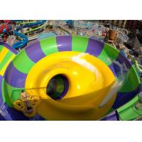 Quality Indoor Or Outdoor Swimming Pool Water Slides Super Bowl For 2 People​ for sale