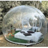 Wholesale 0.8mm PVC Single Tunnel Inflatable Bubble Tent for outdoor from china suppliers