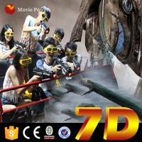 Wholesale SGS CE 7d Interactive Theater Seating Chairs Real Feelings Electric System from china suppliers