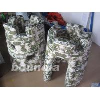 Wholesale PVC tarpaulin Inflatable Army Bunker for Paintball Field Equipment from china suppliers