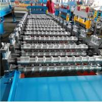 Wholesale PLC System Roof Roll Forming Machine / Metal Roofing Forming Machine 7.5KW Hydraulic Power from china suppliers