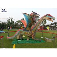 Buy cheap Outdoor Exhibition Animatronic Dinosaur Lawn Statue Artificial Dragon Statue from wholesalers