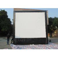 Wholesale Air Sealed Backyard Inflatable Movie Screen , Rear Projection Screen For Party from china suppliers