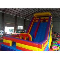 Wholesale Ground Giant Kids Inflatable Dry Slide Jumping Bouncer Slide from china suppliers